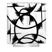 Colapse II Shower Curtain