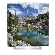 Colby Lake Outlet - Sierra Shower Curtain