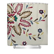 Colcha Plate Shower Curtain