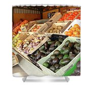 Colchagua Valley Outdoor Market Shower Curtain