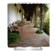 Colchagua Valley Porch Shower Curtain