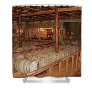 Colchagua Valley Wine Barrels Shower Curtain