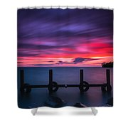 Colchester Harbour Shower Curtain