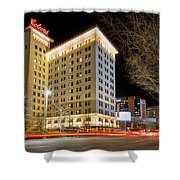 Colcord At Night Shower Curtain