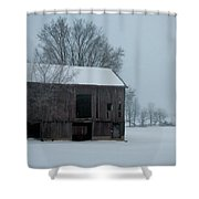 Cold Barn Shower Curtain