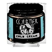 Cold Cream Shower Curtain