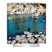 Cold Dive Shower Curtain