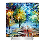 Cold Emotions Shower Curtain
