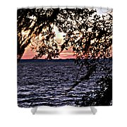 Cold Florida Sunset Shower Curtain