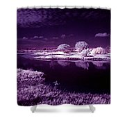 Cold Landscape Shower Curtain