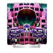Cold Lights Shower Curtain