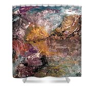 Mountain's, Cold Morning Light Shower Curtain