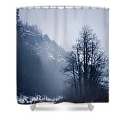 Cold Motion... Shower Curtain
