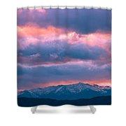 Cold November Rain Shower Curtain