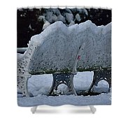 Cold Seat Shower Curtain
