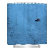 Cold Shoe Shower Curtain