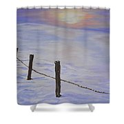 Cold Sience Shower Curtain