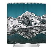 Cold Skies Shower Curtain