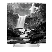 Cold Spring Morning At Kaaterskill Falls II Shower Curtain