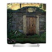 Cold Storage Crypt Shower Curtain