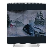 Cold Stream 2 Shower Curtain