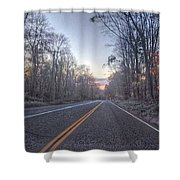 Cold Wanderer  Shower Curtain