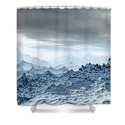 Cold Weather Environment Shower Curtain