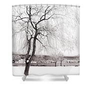 Coldness Shower Curtain