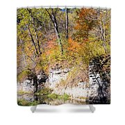 Coldwater Bluffs Shower Curtain