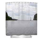 Coldwell Bay Shower Curtain