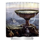 Cole: Titans Goblet, 1833 Shower Curtain by Granger