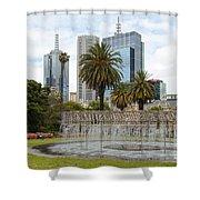 Coles Fountain Shower Curtain
