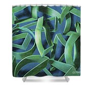 Coil Clipps Shower Curtain