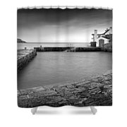 Coliemore Harbour Shower Curtain
