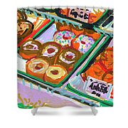 Coligny Donuts Shower Curtain