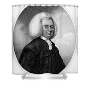 Colin Maclaurin, Scottish Mathematician Shower Curtain