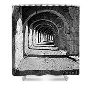Coliseum Corridor Shower Curtain