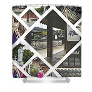 Collage Of Seoul Shower Curtain