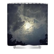 Collapsing Star Shower Curtain