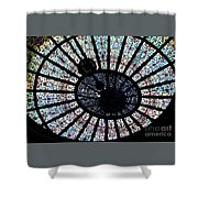 Collectible Stained Glass Tiffany Dome Shower Curtain