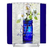 Collecting Tears - Verse Shower Curtain