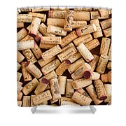 Collection Of Corks Shower Curtain