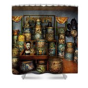 Collector - Hats - The hat room Shower Curtain by Mike Savad