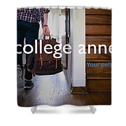 College Apartment Near Miami University Shower Curtain