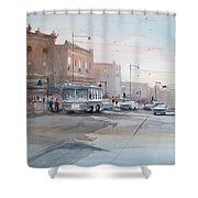 College Avenue - Appleton Shower Curtain
