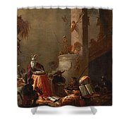 College Of Animals 1655 Shower Curtain