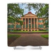 College Of Charleston Main Academic Building Shower Curtain