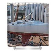 College Of Charleston Sailing Shower Curtain