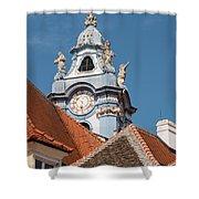 Collegiate Church Tower Shower Curtain