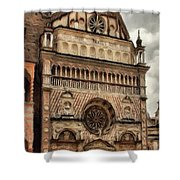 Colleoni Chapel Shower Curtain